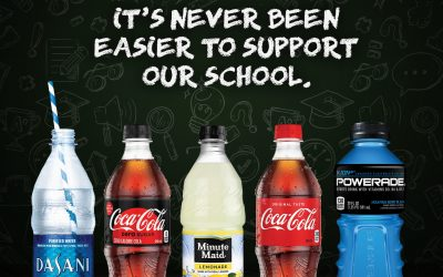 Give Back to Harriet Bishop Elementary with Coca-Cola