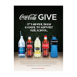 Coca-Cola Give Program